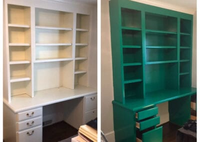 Carrie's Creations Interior Painters | Charlotte, NC | Built-ins Painting
