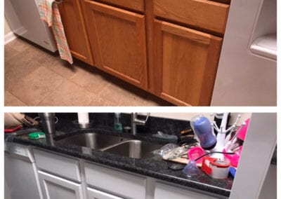 Carrie's Creations Interior Painters | Charlotte, NC | Kitchen Cabinet Painting Charlotte North Carolina