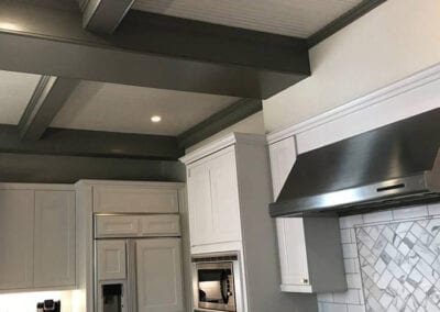 Carrie's Creations Interior Painters | Charlotte, NC | Painted Kitchen